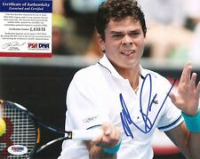 MILOS RAONIC 8X10 AUTOGRAPHED AUTO PHOTO PSA / DNA CANADA US OPEN