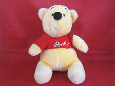"Walt Disney Winnie the Pooh Bear 10"" Plush Disneyland World"