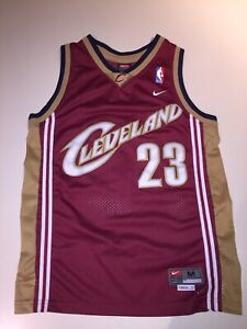 Lebron James #23 Cleveland Cavaliers Youth Medium (10-12) Nike Authentic Jersey