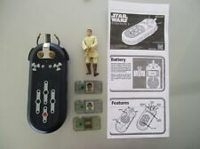 Starwars Episode-1 Electronic Comm Reader with 3 comm chips & a Obi-Wan fig