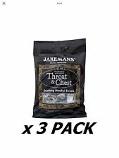 3 Pack of Jakemans Throat And Chest Original Free Delivery Only £3.99