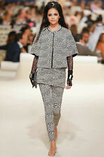 CHANEL 15C Cruise Resort 2015 Dubai Collection Jersey Dress 36 FR
