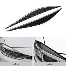 Kohlefaser Scheinwerfer Linse Dekoration Aufkleber für BMW F30 320i 325i 13-15