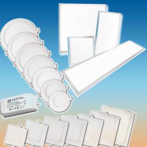 Ultraslim 3W-18W LED Panel Einbauleuchte Einbau Strahler leuchte IP44 Badleuchte
