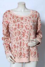 Cotton Blend Animal Print Regular Size Jumpers & Cardigans for Women