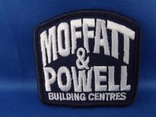 MOFFATT & POWELL BUILDING CENTER HARDWARE STORE HAT PATCH VINTAGE ADVERTISING