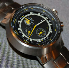 RARE! Nike Lance Armstrong Alti Chronograph Titanium Watch WA0055-002 NEW BATT!