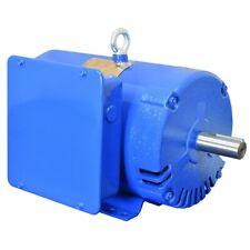 Compressor Duty Electric Motor 5hp 1800 Rpm 184t Frame 230v 1ph Odp 1 18 Shaft