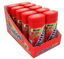 Mentos Gum Bottle Red Fruit - Lime 10 pack (15 ct per pack)