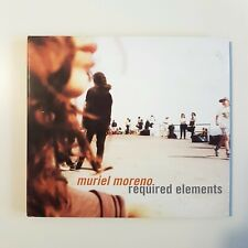 MURIEL MORENO (EX-NIAGARA) : REQUIRED ELEMENTS (+ REMIX) ♦ CD ALBUM DIGIPACK ♦