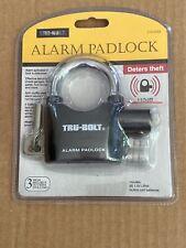 TRU- BOLT ALARM PADLOCK DETERS Theft.