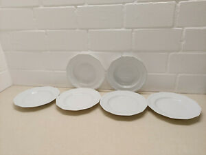 Rosenthal Porzellan Maria weiß 6-tlg Set Teller: 2 xSuppenteller 4 xSpeiseteller