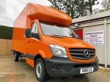1 Owner 2015 Mercedes-Benz Sprinter 313 LWB Luton Van with FSH and Tail Lift!