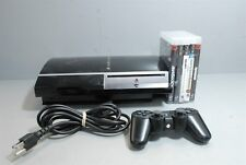 #3 Sony Playstation PS3 80GB Model - CECHK01 bundle with games