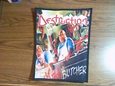 DESTRUCTION,MAD BUTCHER,SUBLIMATED LARGE BACK PATCH