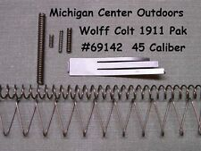 Wolff SPRING KIT for Colt Pistol 1911 1991 1911A1 Gov't MKIV Gold Cup .45 69142
