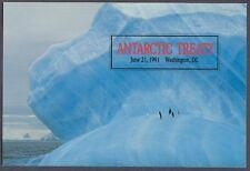 #C130-C1 50c Antarctic Treaty Stamp First Day Ceremony  Program
