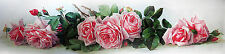 """20""""x60"""" Oil painting Maucherat Raoul de Longpre The Roses France nice flowers"""