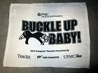 Pittsburgh Penguins 2014 Playoff RALLY TOWEL game 2 Blue Jacket BUCKLE UP Crosby