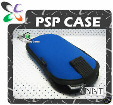 BLUE Carry Case Cover Pouch for PSP/PSP Slim & Lite