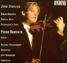 Jean Sibelius: Violin Concerto; Karelia Suite; Belshazzar's Feast, New Music