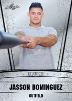 JASSON DOMINGUEZ 2019 Leaf 10 count lot Silver Draft Rookie NY Yankees gem mint