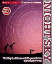 Astronomy/Space kids large book Scholastic Discover More Night Sky Giles Sparrow