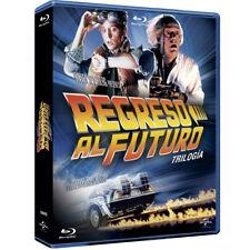Regreso Al Futuro LA TRILOGIA Blu-Ray CASTELLANO EDICION ESPAÑA PRECINTADA