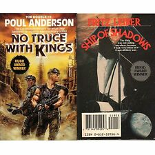 NO TRUCE WITH KINGS Poul Anderson PB Tor Dbl 1989, SHIP SHADOWS Fritz Leiber gjb