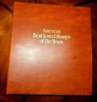 CatalinaStamps: America's Best Loved Stamps of the Years Album, Lot  #D74