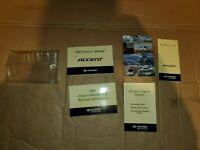 2008 08 Hyundai Accent Owners Manual  Near New L17B