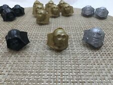 Lot of 15 Star Wars Cupcake Toppers Favors Rings 4 Darth Vader 3 C3PO 8 R2D2