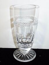 """LaMaison Chenonceau French Cut Crystal 6 5/8"""" Footed Iced Tea Glass SALE 50% OFF"""