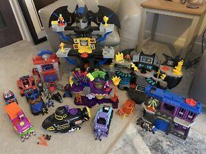 Imaginext DC bundle- Batman, Spider-Man, Joker ++ Job Lot