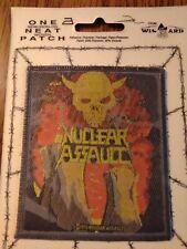 NUCLEAR ASSAULT sew-on PATCH Survive original UK woven VINTAGE MOC