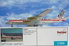 Herpa Wings 1:500 Douglas dc-8-30 African Safari 5y-asa 523233 modellairport 500