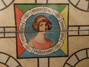 Vintage Board Game Pollyanna with Split Personality Complete Colorful