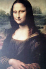 """STUNNING MONA LISA REPRODUCTION PRINT APPR. 10""""X13"""" FROM MASTERPIECE COLLECTIONS"""