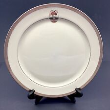 "Pickard China Custom Palm Tree Dinner Plate Palm Springs 10 7/8"" Dia."