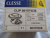 Clesse 21mm CLIP ON LOW PRESSURE BUTANE GAS REGULATOR 21mm 29mbar
