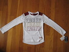 NEW Under Armour Boston College T SHIRT boy girl kid youth BC Eagles hockey 4 4T