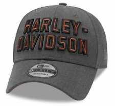 Harley-davidson Casquette Baseball Brodé Graphique 9FORTY Gris
