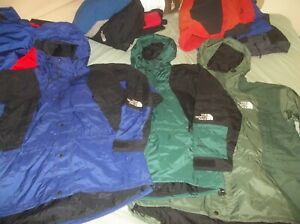ONE The North Face Mountain Light Parka Gore-tex Vintage Jacket Coat TNF READ