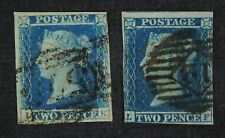 CKStamps: Great Britain Stamps Collection Scott#4 Victoria Used 1 Lightly Crease