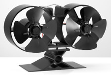 Galleon Fireplaces 8 Blade Heat Powered Wood Log Burning Fire Stove Top Fan