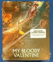 My Bloody Valentine Steelbook (Blu-ray, 2021) *BRAND NEW/SEALED, MINT CONDITION*