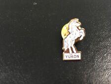 Yukon Territory Pin White Horse