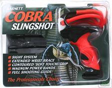 BARNETT NEW COBRA High Power Slingshot Catapult With Sight & Free Practice Ammo