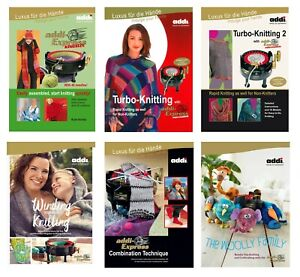 Pattern Books for Addi Knitting Machines