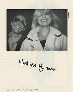 70s vintage Matthew Wyman Nottingham hairdresser fashion press advert Kim Knott